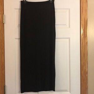 GAP Black Maxi Skirt - S
